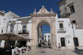 美しき南イタリア旅行♪ Vol.269(第9日)☆Martina Franca:マルティーナ・フランカの美しい「サント・ステファノ城門」♪