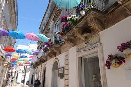 美しき南イタリア旅行♪ Vol.271(第9日)☆Martina Franca:カラフルな傘の「ヴィットリオ・エマヌエーレ通り」♪