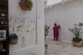 美しき南イタリア旅行♪ Vol.281(第9日)☆Locorotondo:美しいロコロトンド旧市街 可愛いお店「Mostra」♪
