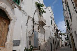 美しき南イタリア旅行♪ Vol.284(第9日)☆Locorotondo:美しいロコロトンド旧市街 景観の美しい「ブルーノ通り」♪