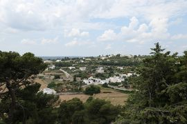 美しき南イタリア旅行♪ Vol.285(第9日)☆Locorotondo:美しいロコロトンド旧市街 公園からパノラマ♪