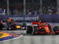 2回目のシンガポールF1グランプリ観戦�(決勝日・帰国)