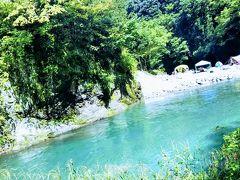 18年9月 ワンコと行く川遊び@道志渓谷