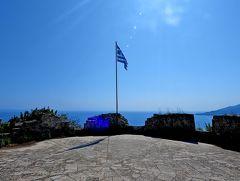 2018.8ギリシアザキントス島,ペロポネソス半島ドライブ旅行13-Venetian Fortress(Bohali城,ベネチア要塞)