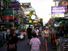 2009 夏 タイ、カンボジア旅⑤ 大騒ぎなバンコクとカオサン通りに感激の巻