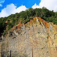 Mystery-7 葛根田渓谷と玄武洞跡(秘境1)聳え立つ岸壁も ☆葛根田川の上流部