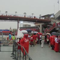 「M1 CARP 応援」 待つだ スタジアム周辺で応援だ! 26日優勝!