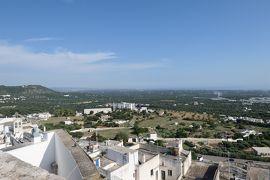 美しき南イタリア旅行♪ Vol.303(第10日)☆オストゥーニ:高級ホテル「La Sommita Relais」最後のパノラマ♪