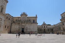 美しき南イタリア旅行♪ Vol.307(第10日)☆Lecce:美しき広場「Piazza del Duomo」♪