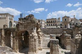 美しき南イタリア旅行♪ Vol.309(第10日)☆Lecce:美しき古代ローマ遺跡「Anfiteatro」♪