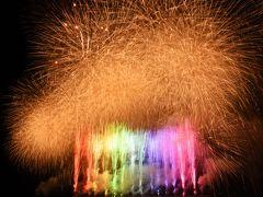 ハウステンボスの九州一花火大会を観覧、撮影し、さらに夜景やアクティビティーを楽しんだ