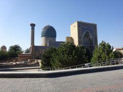 チャーター便で行く 青の都ウズベキスタン