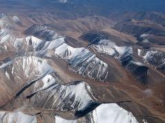 シルクロード新疆ウイグルへの旅・・・帰国の空旅1、北京まで