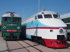ロシア 2018年7月/鉄道の部(サンクトペテルブルク鉄道博物館とネフスキーエクスプレス)