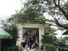 タイ専科 60  バンナムプン 水上マーケット  バンコク (バンナ-から)