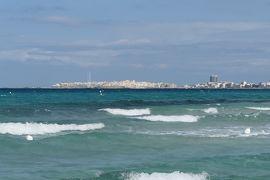 美しき南イタリア旅行♪ Vol.326(第11日)☆ガッリーポリ:ビーチ高級リド「サムザーラ」青いイオニア海♪