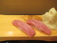 秋の沖縄・石垣島(4)アリビラ初日恒例の寿司食べ放題でおなかいっぱい!