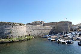 美しき南イタリア旅行♪ Vol.329(第11日)☆ガッリーポリ:美しいガッリーポリ城を眺めて♪