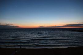 美しき南イタリア旅行♪ Vol.333(第11日)☆ガッリーポリ:旧市街 イオニア海が夜景に変わる頃♪
