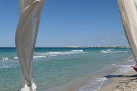 美しき南イタリア旅行♪ Vol.339(第12日)☆ガッリーポリ:ビーチ高級リド「サムザーラ」青いイオニア海♪