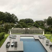 伊豆の大人リゾートでプール!がしかし雨の1泊2日