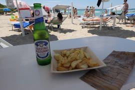 美しき南イタリア旅行♪ Vol.340(第12日)☆ガッリーポリ:ビーチ高級リド「サムザーラ」ビールとフライドポテト♪