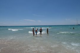 美しき南イタリア旅行♪ Vol.341(第12日)☆ガッリーポリ:ビーチ高級リド「サムザーラ」さようなら♪