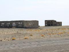 カザフスタン・バルハシ湖南岸 スターリンのカラシガン・強制収容所跡