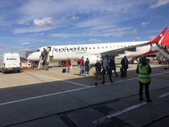 ビジネスクラスでロンドンへ:スイス航空マドリード発ジュネーブ経由[2018年9月10月世界一周特典航空券の旅24]