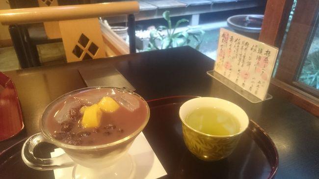 用事ついでにちょっと散策。お茶や甘いものを求めて久々の京都です
