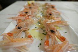 美しき南イタリア旅行♪ Vol.348(第12日)☆ガッリーポリ人気リストランテ「La Vinaigrette」ディナーはエビ料理♪