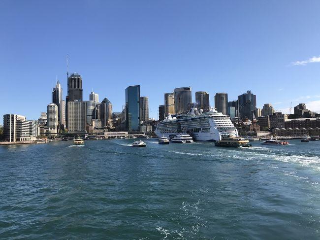 拙家にとっては、ついにという感じの待望のシドニー行き初回。2013年末のゴールドコースト以来、オーストラリアという国単位では2回目の訪問になる。<br />2009年にシドニー行きを予定していた事があったのだが諸事情で断念せざるを得ない過去もあり。それから随分と年を重ねてしまったが、ついにこれが正真正銘の初シドニーだ。<br />スタアラ使いだから出来ればANAさんで行きたいなと思って行き方を調べたらプレエコが意外に高くない事まで学習出来てw<br />実質1泊4日の超弾丸旅程だが。いざ出発<br /><br />Air:<br />2018/10/05-06 HND-SYD NH879<br />2018/10/07-08 SYD-HND NH880<br /><br />Hotel:<br />Sydney Harbour Marriott Hotel at Circular Quay 1 night