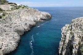 美しき南イタリア旅行♪ Vol.371(第13日)☆Gagliano:美しい湾「Ciolo」橋上からのパノラマ♪