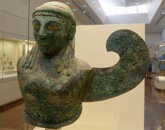 2018.8ギリシアザキントス島,ペロポネソス半島ドライブ旅行18-オリンピアへ,オリンピア考古学博物館1
