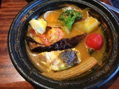大阪多国籍グルメ⑩ 中学生の娘の短期留学の準備で買い物 難波で地中海料理 ブイヤベース&猫カフェ