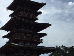 奈良東大寺歌舞伎 その3 薬師寺・唐招提寺と帰りは新幹線グリーン車