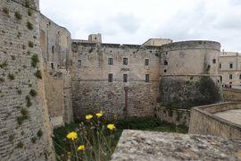 美しき南イタリア旅行♪ Vol.395(第14日)☆美しきオートラント旧市街 古城を眺めて♪