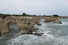 美しき南イタリア旅行♪ Vol.408(第15日)☆Torre Sant'Andrea:荒波のトッレ・サンタンドレア♪