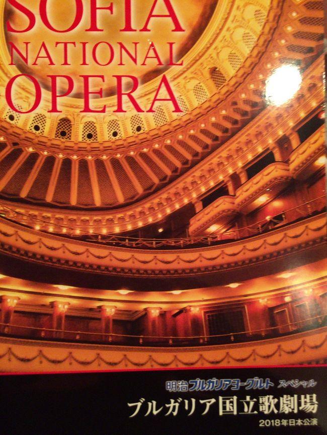 ブルガリア国立劇場「トゥーランドット」を<br />観に行きました。<br /><br />「誰も寝てはならぬ」で有名なオペラです。