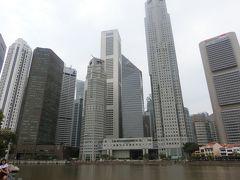 シンガポールへ! その7  郊外のホーカーズで昼食、ダウンタウンに移動してシンガポール川沿いのクラーク・キーとボート・キーをプラプラ。F1決勝戦まもなくスタート!