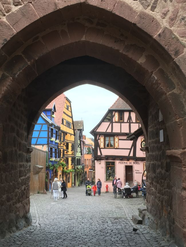 フランスのパリ*アルザス*リヨン9日間の旅④アルザスの美しい村巡り(2)