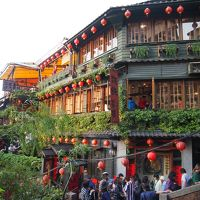 ツアーで行く3泊4日台湾縦断旅行[1]出発~台北、九分、十分観光