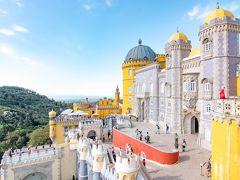初めてのポルトガル その7 シントラ前編 ペーナ宮殿~ムーアの城跡~シントラ旧市街