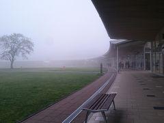 凄い霧だね軽井沢 意外と寒い4月下旬