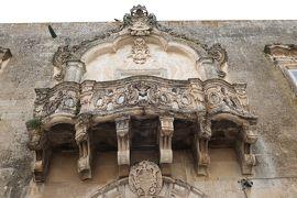 美しき南イタリア旅行♪ Vol.422(第15日)☆美しきマルターノ旧市街 貴族の館を眺めて♪