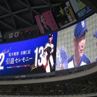 ぶらり愛知県でプロ野球観戦の旅(ドラゴンズVSタイガースを観戦)