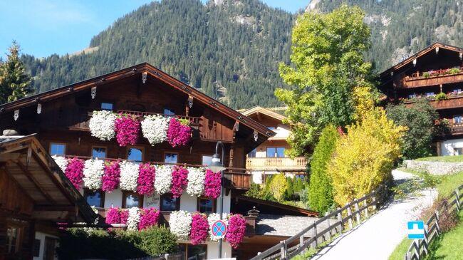 オーストリア、世界遺産巡りと湖水地方の旅 6日目の2 インスブルック・アルプバッハ・ザルツブルク