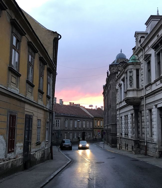 ☆春のプラハでモルダウを~♪.:*<br /><br />パンノンハルマからショプロンへ。<br />ショプロンは17世紀の街並みを残しているとか。<br />丘の上のホテルからショプロンの街を歩きます。<br /><br />☆JALパックセレクション☆<br />ビジネスとプレエコで行くハンガリー・スロバキア・チェコ周遊10日間。<br /><br />4/23 中部国際空港⇒成田空港  成田日航ホテル(前泊)<br />4/24 成田空港⇒ヘルシンキ空港⇒ブタベスト マリオット・ブダペスト<br />4/25 ブダペスト市内観光         マリオット・ブダペスト<br />■4/26 ブダペスト⇒ショプロン        ホテル・ショプロン<br />4/27 ショプロン⇒ブルノ        バルセロナ・ブルノ・パレス<br />4/28 ブルノ⇒チェスキークルムロフ     ホテル・ルーゼ<br />4/29 チェスキークルムロフ市内観光     ホテル・ルーゼ  <br />4/30 チェスキークルムロフ⇒プラハ  ヒルトンプラハオールドタウン<br />5/1 プラハ市内観光         ヒルトンプラハオールドタウン<br />5/2 プラハ空港⇒ヘルシンキ空港       機中泊<br />5/3 成田空港  <br />  <br />★5/8まで東京に滞在して帰宅。<br />拙い旅日記ですが、<br />お付き合いいただけたら幸いです&lt;(_ _)&gt;<br /><br /><br />