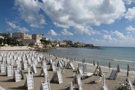 美しき南イタリア旅行♪ Vol.438(第16日)☆オートラント:朝のオートラント湾ビーチを眺めて♪