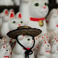 さよなら幸福の招き猫電車! 猫電車と豪徳寺の招き猫を訪ねて